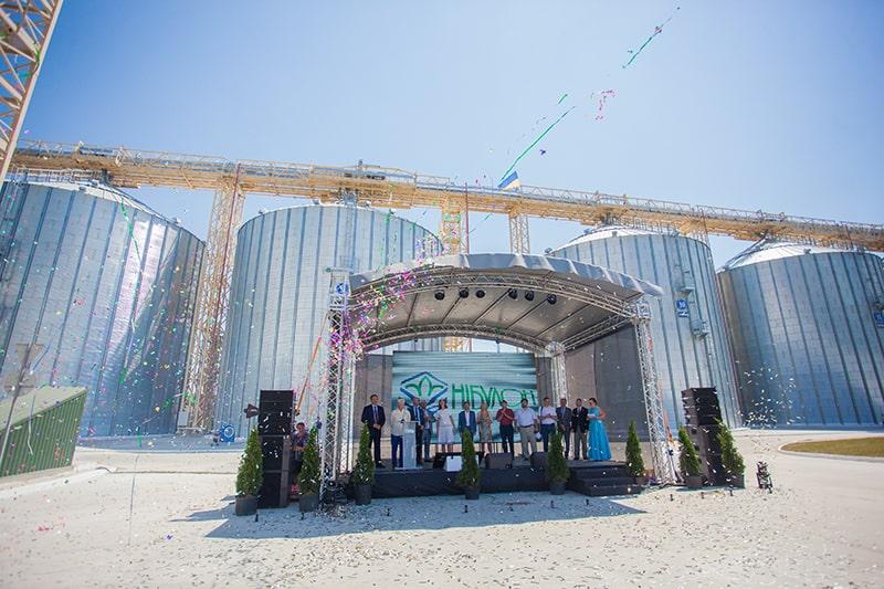 «НИБУЛОН» открыл терминал в Терновке Запорожской области