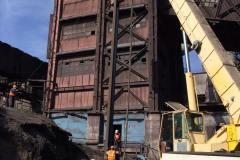 Занурення шпунта Ларсен-V. Об'єкт: аглоцеха-2. Реконструкція будівель і споруд комплексу А / М6. Будмайданчик №1. Замовник: ПАТ «АрселорМіттал Кривий Ріг».