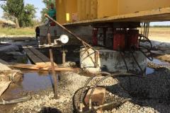 Статичні випробування грунтів палями Ф1020 мм. Об'єкт: ВЕС потужністю 500 МВт в Приазовському та Мелітопольському районі 1 чергу. Замовник: ТОВ «ЮРОКЕЙП ЮКРЕЙП I».