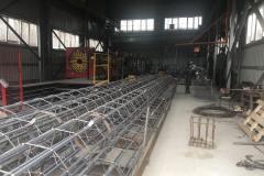 Изготовление арматурных каркасов установкой MEP (Италия).
